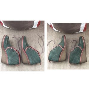 OluKai Shoes - Olukai Wali Wedge Suede Shoes